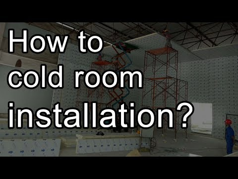 How to build cold room installation? -60℃ freezer cold storage room