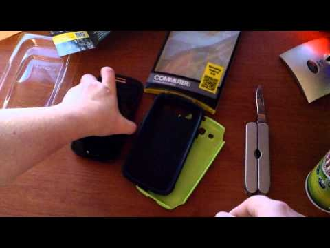 Otterbox Commuter unboxing for the Samsung Galaxy S3