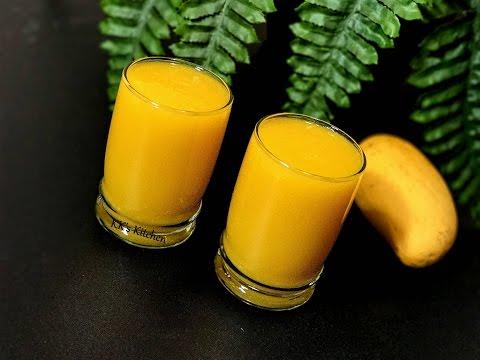 Mango Frooti Fresh Pulpy Mango Juice | Mango Juice | Homemade Mango Frooti Recipe