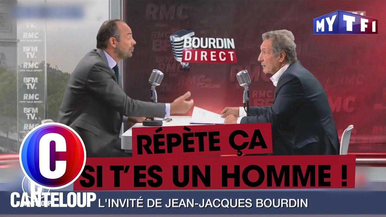 """Edouard Philippe a.k.a. """"l'Arme Fatale"""" s'en prend à Jean-Jacques Bourdin - C'est..."""