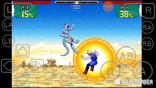 GBA emulator: Dragon Ball Z super sonic warriors Frieza's story: Road to immortality