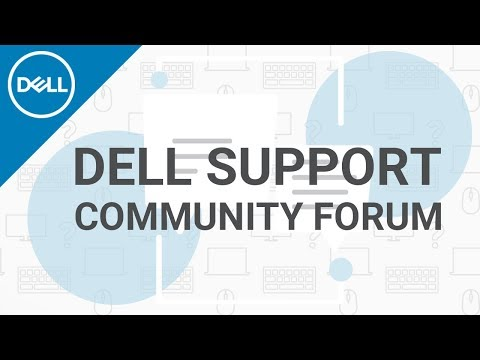 Dell Support Dell Community Forum (Official Dell Tech Support)