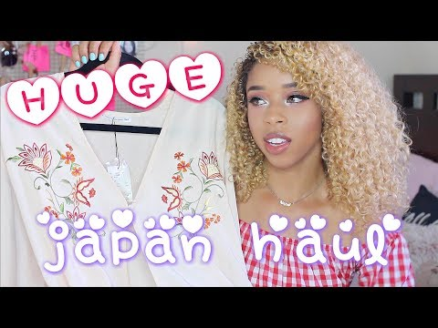 What I Bought In Japan! J-Fashion Try-On Haul 🇯🇵 日本で買った物