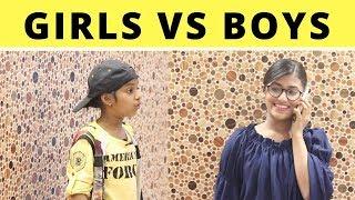 Girls VS Boys| Samreen Ali