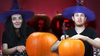 Irish People Try Celebrity Pumpkin Carving