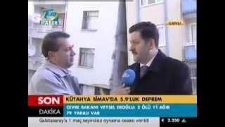 Simav Deprem Sonrası Tgrt Haber Canlı Yayını
