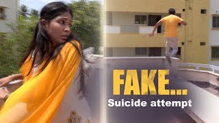 A Suicide attempt....but FAKE !!! | Naayagi