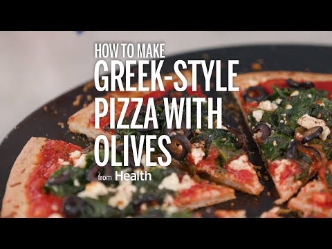 How to Make Greek-Style Pizza with Olives | Health