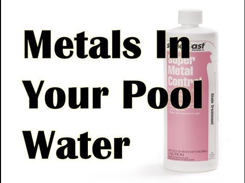 Metals In Pool Water | How To Treat Copper & Iron In Swimming Pools