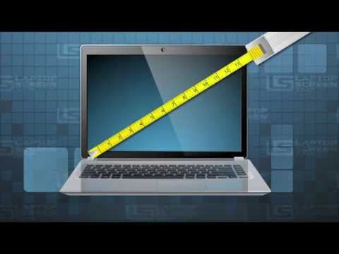How to measure laptops screen size