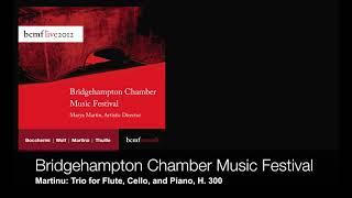 Martin Trio For Flute Cello And Piano H 300