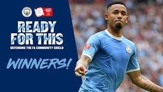 CITY RETAIN THE COMMUNITY SHIELD | PEP NEWS CONFERENCE