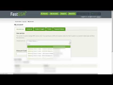 How To Unlock Samsung Galaxy Ace NXT by Unlock Code