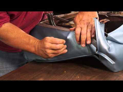 Installing new seat covers - The Build