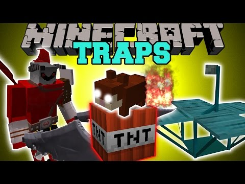 Minecraft: TRAPS (TRAP ANIMALS & MOBS, EXPLODING RODENTS, & LORD OF DEMONS!) Mod Showcase