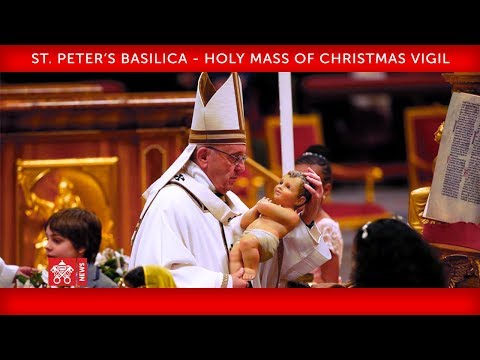 Xxx Mp4 Pope Francis St Peter's Basilica Holy Mass Of The Christmas Vigil 2018 12 24 3gp Sex