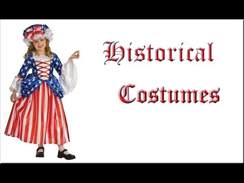 Pilgrim, Colonial and Historical Costumes for Kids