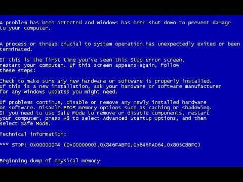 How To Resolve 0x000000F4 BSOD In Windows 10