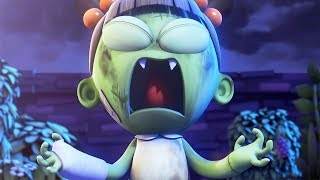 Funny Animated Cartoon | Spookiz | Zizi's Super Power | 스푸키즈 | Cartoon For Children