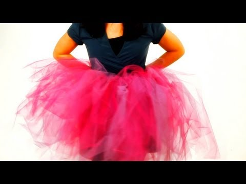 How to Cut the Tulle for a No-Sew Tutu | No-Sew Crafts