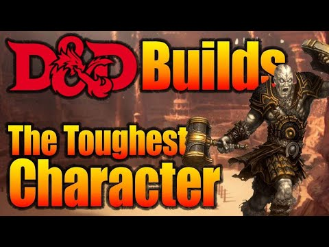 Tank the Toughest character Build in the Game| D&D Character Builds