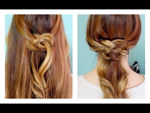 How to: Celtic Knot Half Updo and Ponytail!