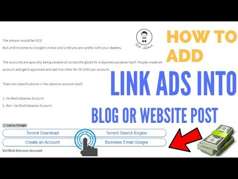 Increase Adsense Income 100% | Add Link ads to Blog and Wordpress 2017| Best Adsense Trick ever