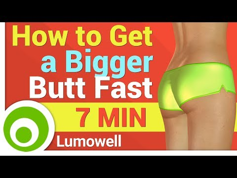 How to Get a Bigger Butt Fast