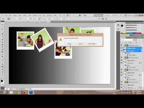 Photoshop Collage Effect Tutorial using Single Image