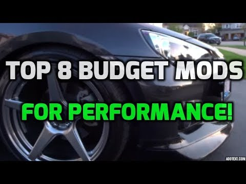 Top 8 Budget Mods To Improve performance of your BRZ, FRS or 86!