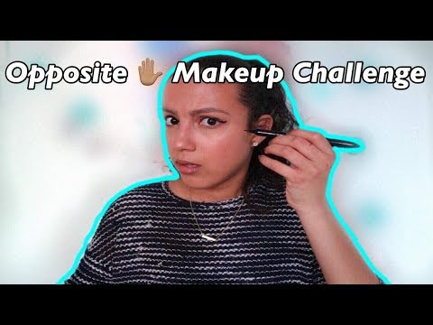 The Opposite Hand Makeup Challenge + Instagram giveaway ||StylingwithCath