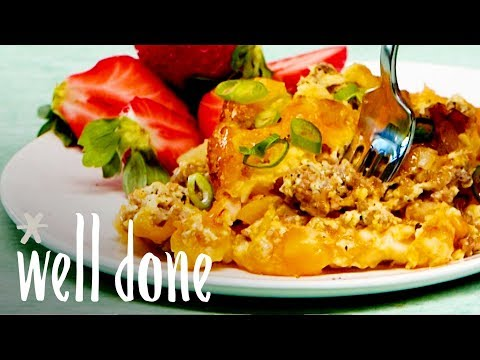 Easy Make-Ahead Sausage-Hash Brown Breakfast Casserole   Recipe   Well Done