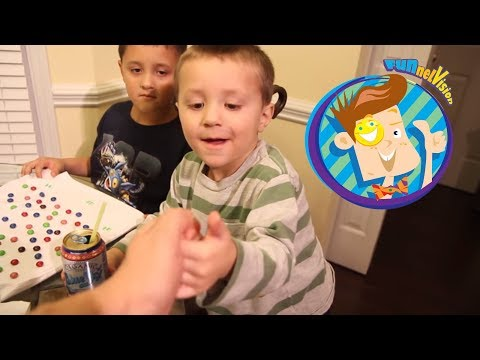 Kids React to SUSHI / Mikes Lost Tooth / 100 Days of School (Funnel Vision Family Vlog)