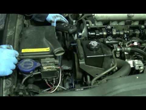 D5252T timing belt change part 4a: Main timing belt removal. Volvo 850 S70 V70 S80 TDI 2.5D
