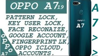 All Oppo New Models Pattern Lock, Password, FRP, Flash Done