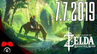 The Legend of Zelda: Breath of the Wild   #1   7.7.2019   Agraelus   1080p60   Nintendo Switch   CZ