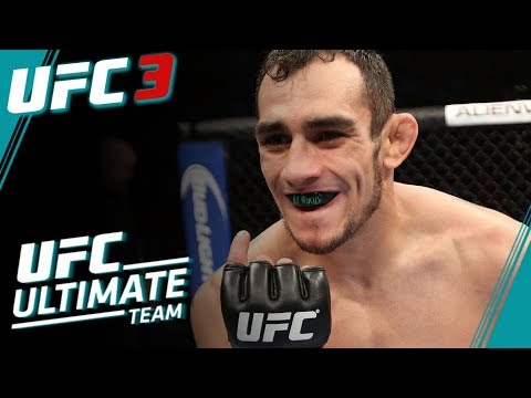 UFC 3 Ultimate Team Series Part 1 - Ferguson v McGregor - EA Sports UFC 3 Ultimate Team Gameplay