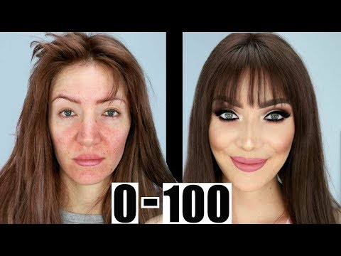 0 to 100 Makeup Transformation GRWM for DATE NIGHT!