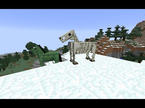 How To Spawn Undead Horses (Zombie and Skeleton Horses) in Minecraft Without Mods