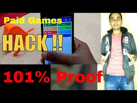 HOW TO DOWNLOAD PAID APPS/GAMES FREE FROM PLAY STORE [NO ROOT] 101% IN [HINDI]