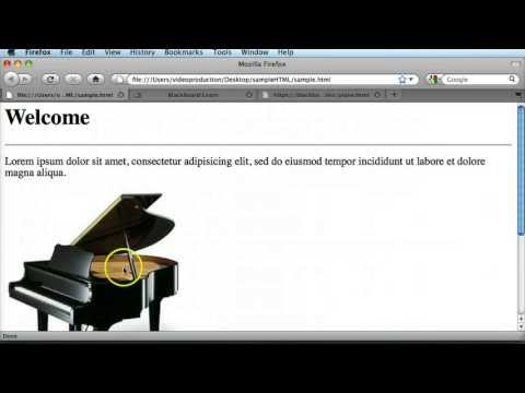 Learn HTML 09 - Creating hyperlinks in web pages