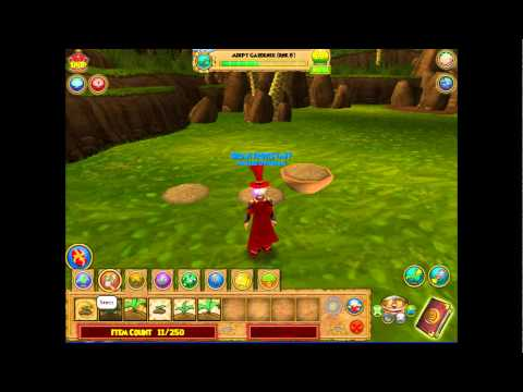Wizard101 Gardening The Basics -Planting