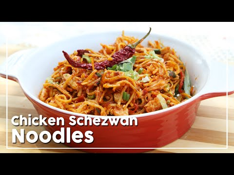 Chicken Schezwan Noodles - Today's Special With Shantanu