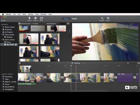 iMovie 104: Creative Effects and Color Correction - 23. Slow Motion Effects