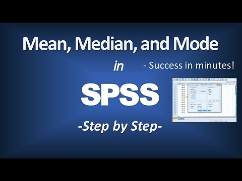 How to Calculate the Mean, Median, and Mode in SPSS - Central Tendency