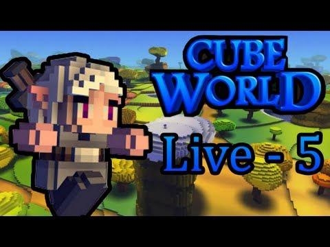 Cube World : Aventure Découverte | Episode 5 - Live