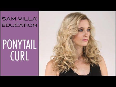 Ponytail Curl