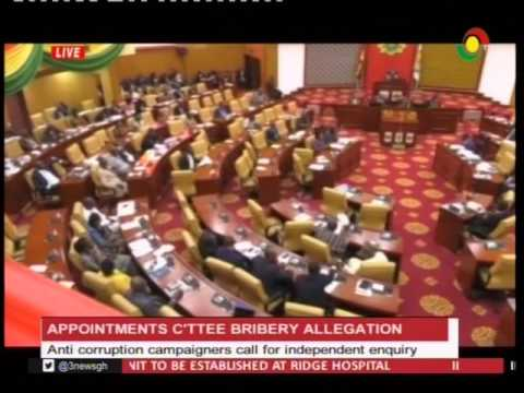 Anti corruption campaigners call for independent inquiry over parl. bribery allegation -30/1/2017