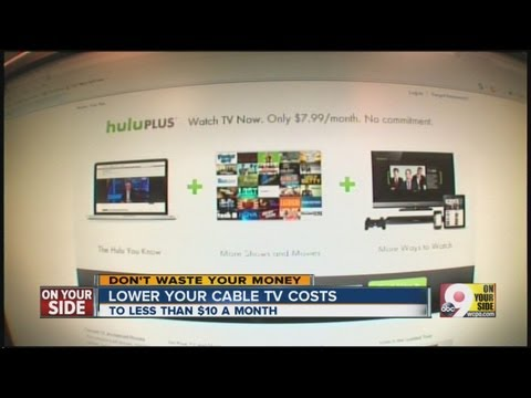 Lower your cable TV costs