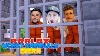ROBLOX Adventure - ROPO, TINY TURTLE & LACHLAN ARE THE WORST CRIMINALS EVER!!